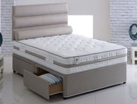 Vogue Bliss Ortho  Coil & Memory Fibre Divan Bed