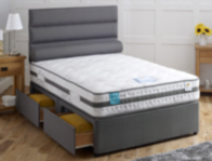 Vogue Cloud 1500 Pocket & Gel Divan Bed