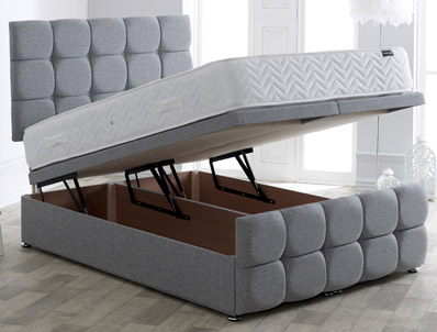 Vogue Dorchester Style End Ottoman Bed Base