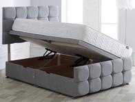 Vogue Dorchester Style Side Ottoman Bed Base
