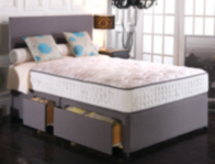 Vogue Empress 2000 Pocket & BluCool Memory Foam Divan Bed