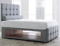 Vogue Maxi Storage Base with Optional Dorchester Headboard & Foot board