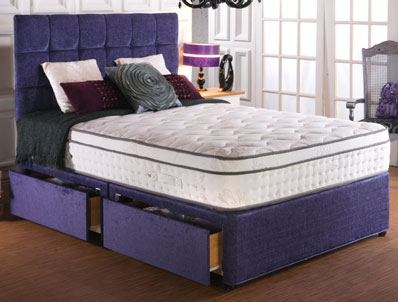 Vogue President Blu Cool 2000 Pocket & Memory Bed