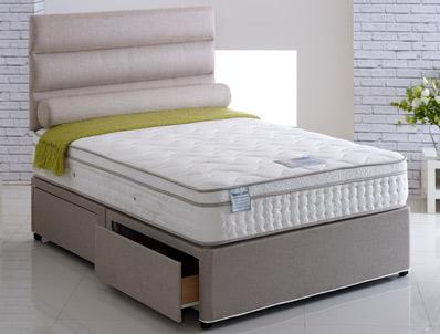 Vogue Senator 2000 Pocket & Latex Pillow Top Bed