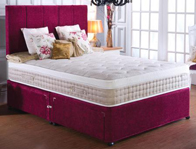 Vogue Senator 2000 Pocket & Latex Pillow top Mattress