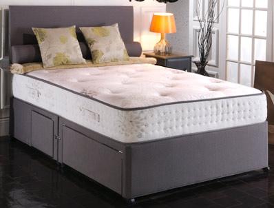 Vogue Windsor Ortho  1000 Pocket & Blu Cool Memory Bed