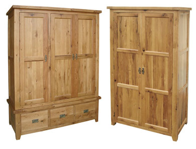 WashingBay Harvard Oak Wardrobes