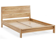 Willis Gambier Escana Contempory Oak Bed Frame