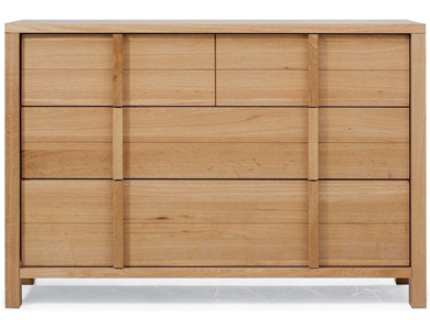 Willis Gambier Escana Oak 2 over 2 Drawer Chest
