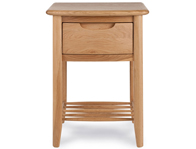 Willis Gambier Grace 1 Drawer Bedside