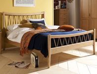Willis Gambier Grace Oak Bed Frame