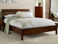 Willis Gambier Kerala Dark Hardwood Bed Frame