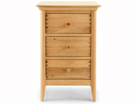 Willis Gambier Spirit 3 Drawer Bedside cabinet