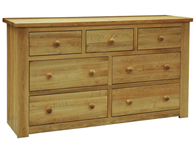 Windsor 3 over 4 Drawer Chest