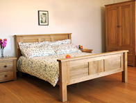 Windsor Oak Collection Bed Frame
