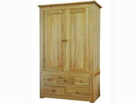 Windsor Wardrobe With 3 over 2 Drawers